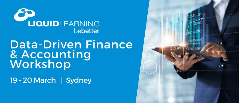 Data-Driven Finance & Accounting Workshop