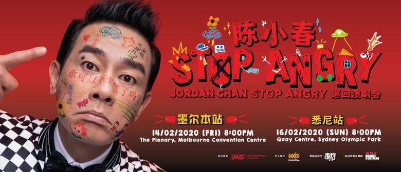 Jordan Chan's Stop Angry World Tour