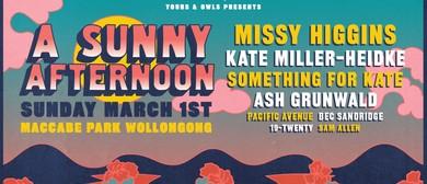 A Sunny Afternoon W/ Missy Higgins, Kate Miller-Heidke & Mor