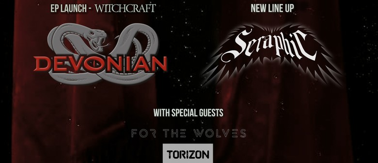 Devonian EP Launch, Seraphic, For The Wolves, Torizon