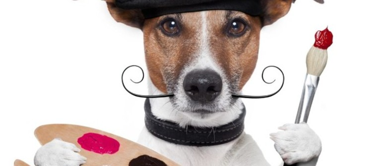 Paint Your Dog – Dog-Friendly Painting Class