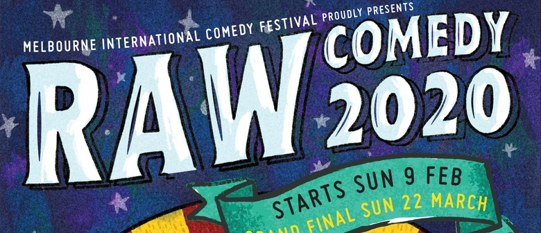 Raw Comedy Competition QLD 2020