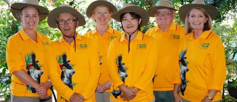 Currumbin Wildlife Sanctuary Park Volunteer Training Course