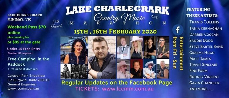 Travis Collins - Lake Charlegrark Country Music Marathon