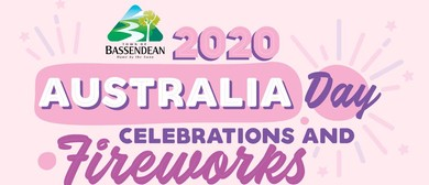 2020 Australia Day Celebrations and Fireworks
