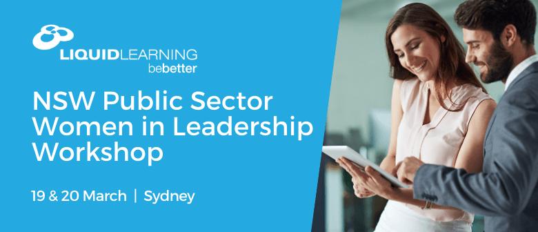 NSW Public Sector Women in Leadership Workshop
