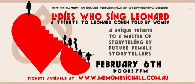Image for Ladies Who Sing Leonard