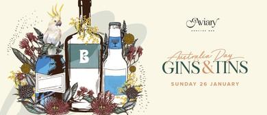 Aviary's Australia Day Gins & Tins
