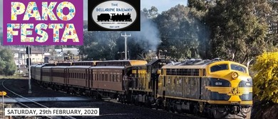 Pako Festa Geelong Heritage Train: CANCELLED