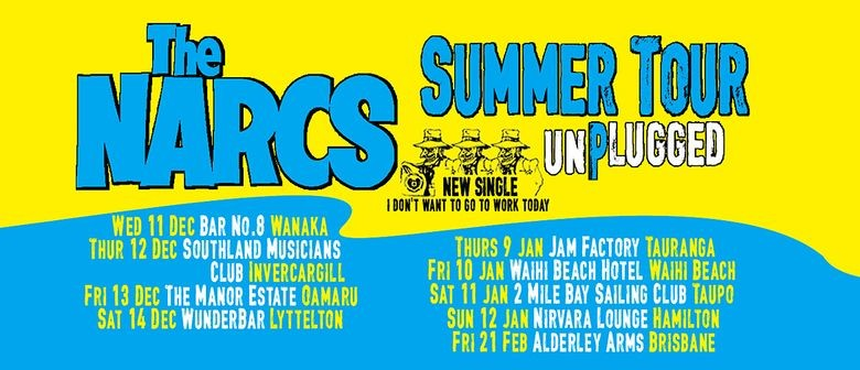 The Narcs Unplugged – Summer Tour