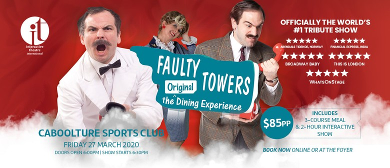 Faulty Towers Dining Experience: CANCELLED