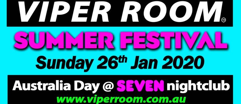 Viper Room Summer Festival – Australia Day