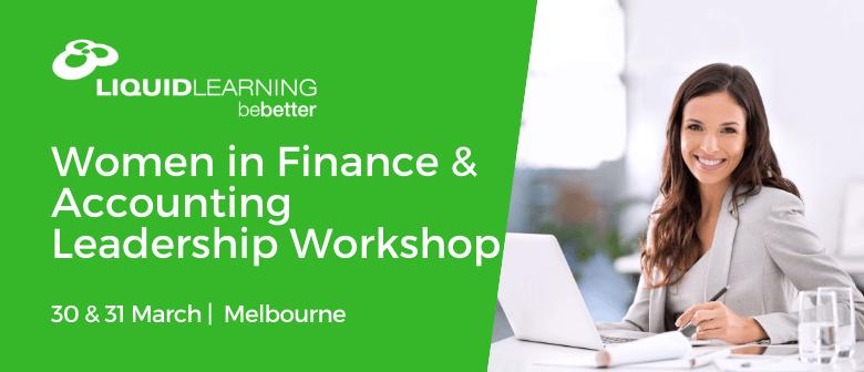 Women in Finance & Accounting Leadership Workshop