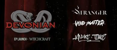 Devonian EP Launch, The Stranger, Void Matter, Awake In Time