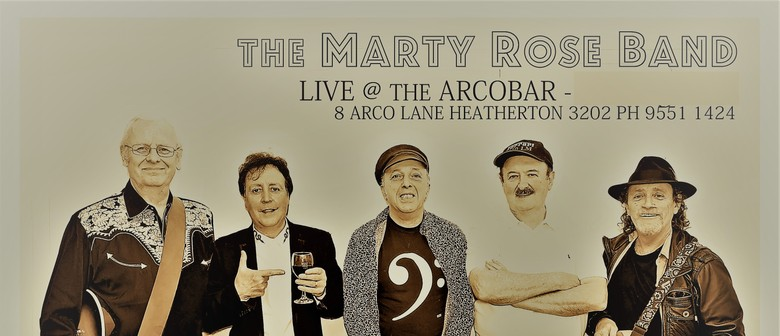 """The Marty Rose Band – Valentine's Day """"Loved-Up"""" Show"""