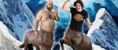 2 Half Men: Glenn Grimwood & Jez Watts – Perth Fringe 2020