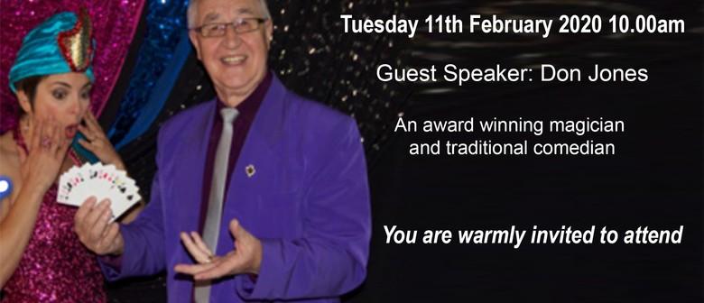 Donvale-Tunstall Probus Club - February Meeting