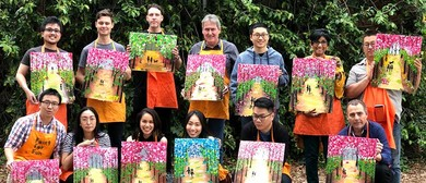 Paint By the River – Dine In Outdoor Painting Class