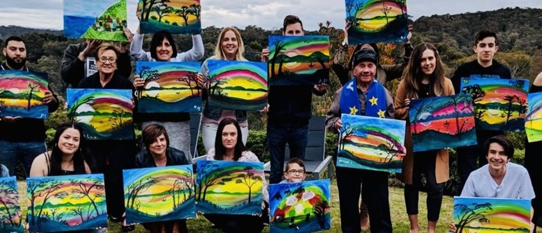Paint By the River – Sip and Paint Fun – BYO