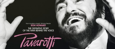 Pavarotti with DivaLicious Star Penny Shaw