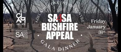 SA4SA Bushfire Appeal Gala Dinner