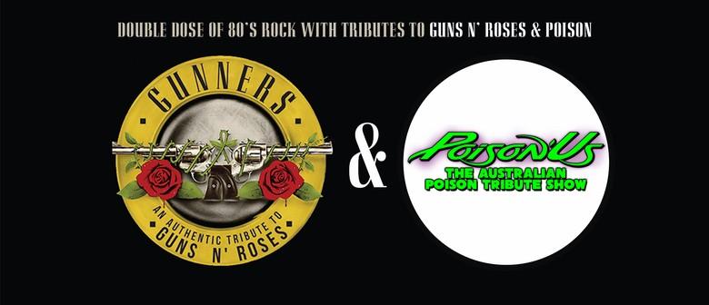 Double Dose of 80s Rock – Gunners + PoisonUs