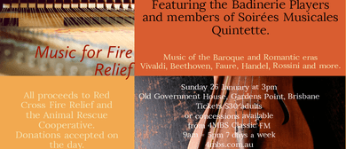 Music for Fire Relief