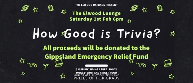 How Good Is Trivia? Bushfire Relief Appeal