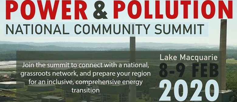 Power and Pollution: National Community Summit