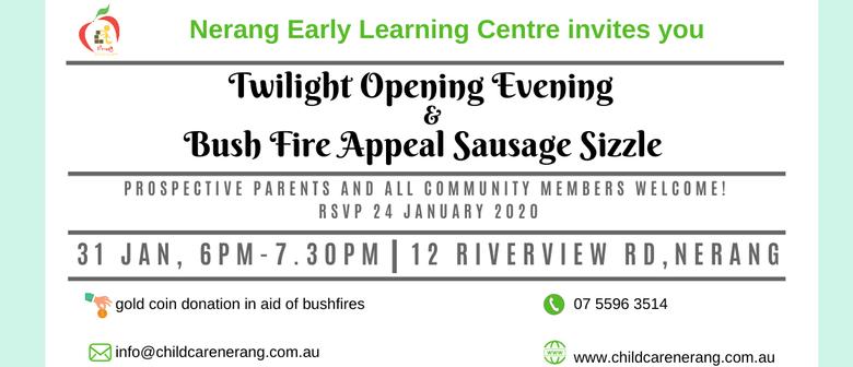 Twilight Open Day Bush Fire Appeal