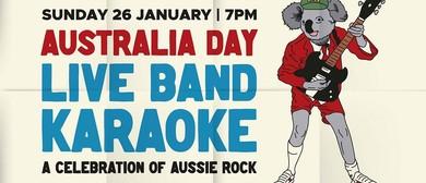 Australia Day Band Karaoke – Bushfire Fundraiser