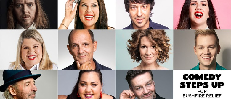 Comedy Steps Up for Bushfire Relief