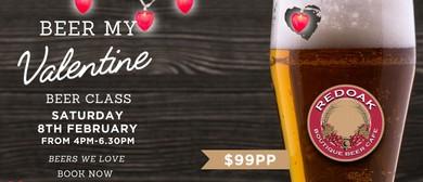 Beer My Valentine – February Beer Class