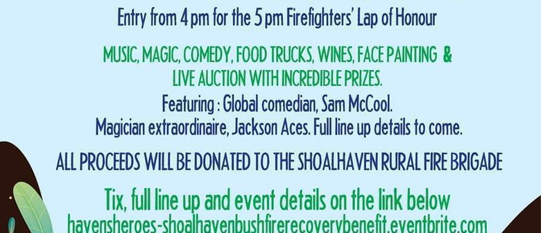Havens Heroes – The Bushfire Recovery Benefit for Shoalhaven