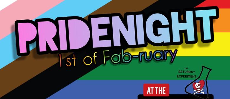 Pride Night – The Big HOO-HAA's Saturday Experiment