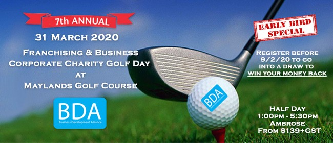 Image for Franchising and Business Corporate Charity Golf Day 2020