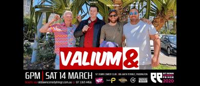 Valium & Sit Down Comedy Fringe Festival