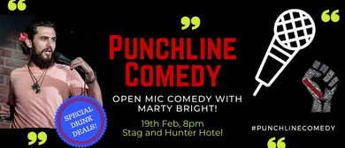 Punchline Comedy with Marty Bright
