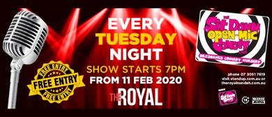 Open Mic Comedy Night: POSTPONED
