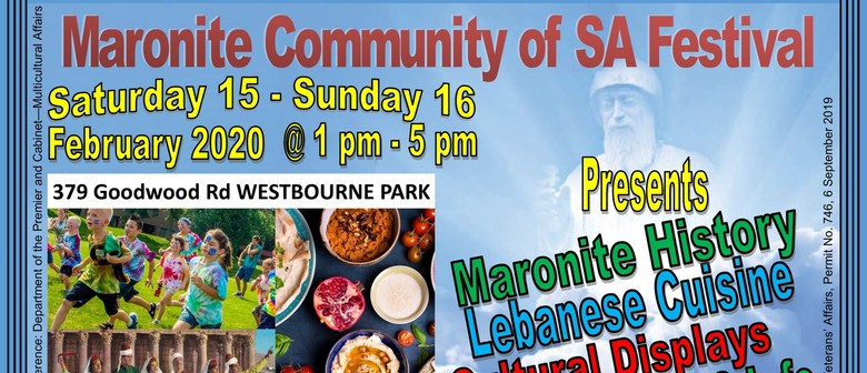 Maronite Community of SA Festival