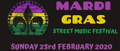 Mardi Gras Street Music Festival