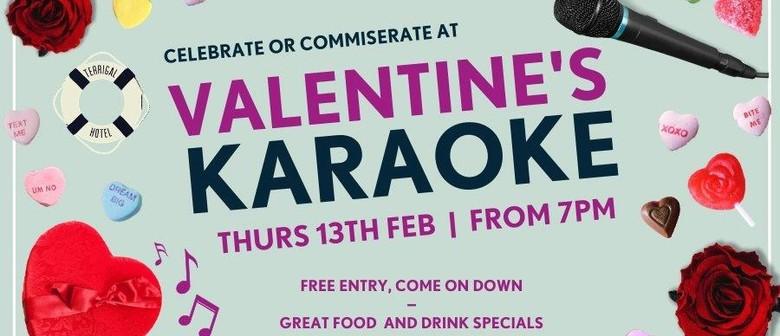 Valentine's Karaoke