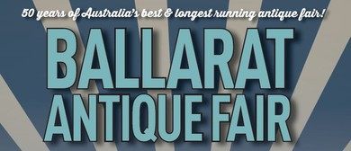 Ballarat Antique Fair 2020