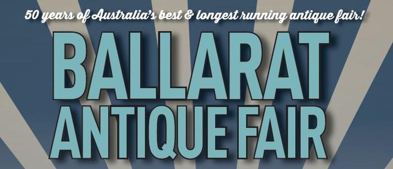 Ballarat Antique Fair 2020