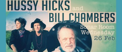 Hussy Hicks & Bill Chambers