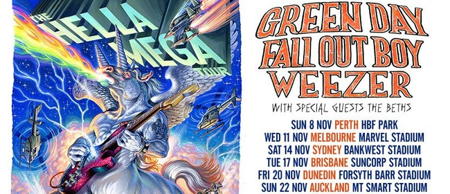 Image for The Hella Mega Tour – Green Day, Fall Out Boy and Weezer