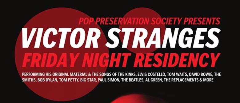 Lounge Pop With Victor Stranges