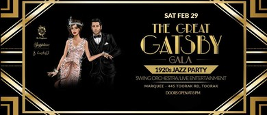 The Great Gatsby Gala - 1920s Jazz Party