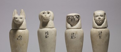 Egyptian Curiosities, Clay Canopic Jars – Art Class for Kids