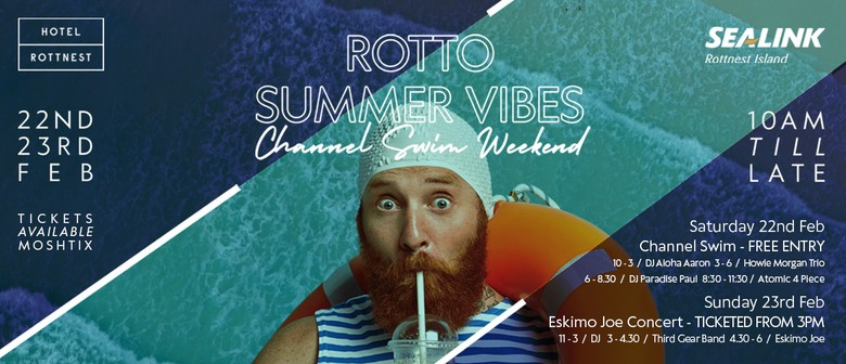 Rotto Summer Vibes – Channel Swim Weekend